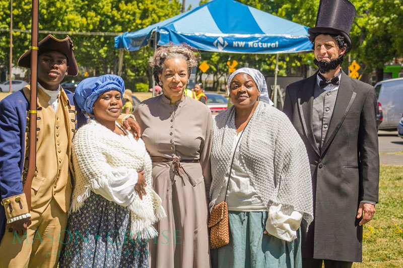 PassinArt: A Theatre Company's Living History Project at the Portland Juneteenth Celebration